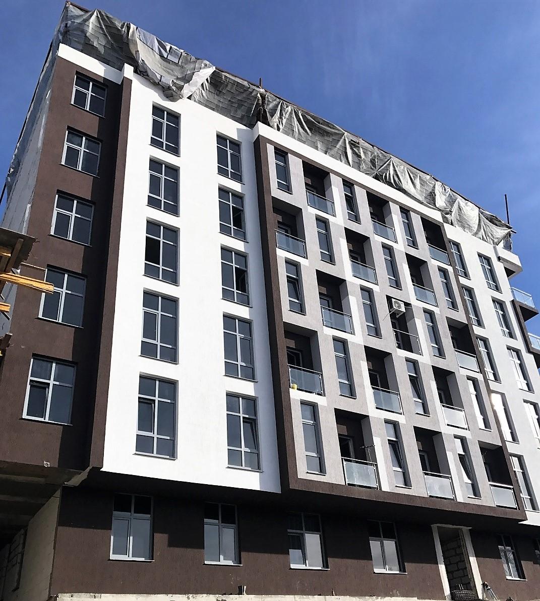 Жилой комплекс на ул.Тимирязева в г.Сочи.