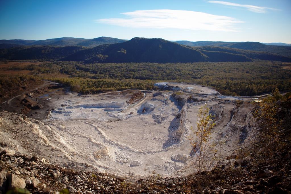 Кульдурский бруситовый рудник ЕАО 2 малый