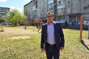 """Директор УК """"Рембытстройсервис"""" А.С.Юрков"""
