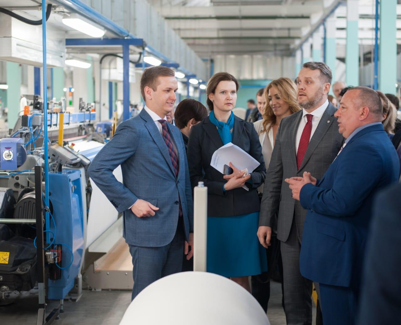 В Иванове запустили новое производство тканей для спецодежды (1)